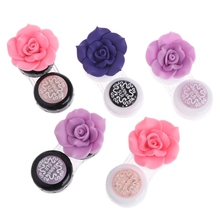 New Travel Portable Cute Lovely Flower Contact Lens Container Case Holder Box