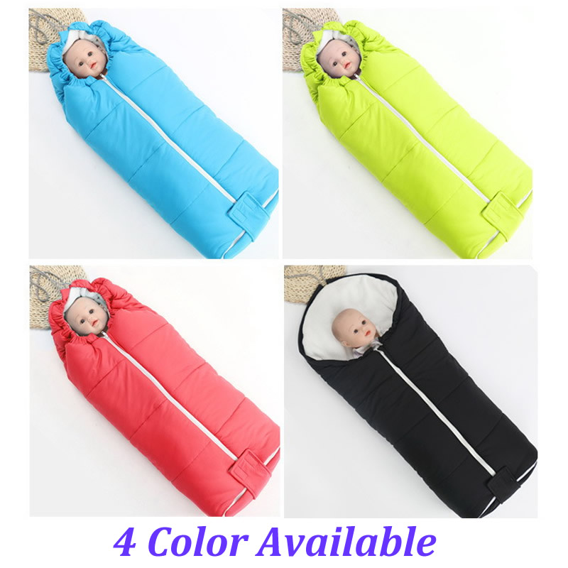 Cotton Wadded Baby Stroller Sleeping Bag For Winter Kids Sleeping Bag Waterproof Sleeping Bag Baby Stroller Seat Cushion SD03 цены