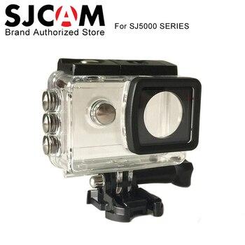 Orijinal SJCAM SJ5000 Artı Su Geçirmez Kılıf Sualtı Konut Dalış 30 M sj kam SJ5000 wifi SJ5000X Elite kamera Aksesuarları