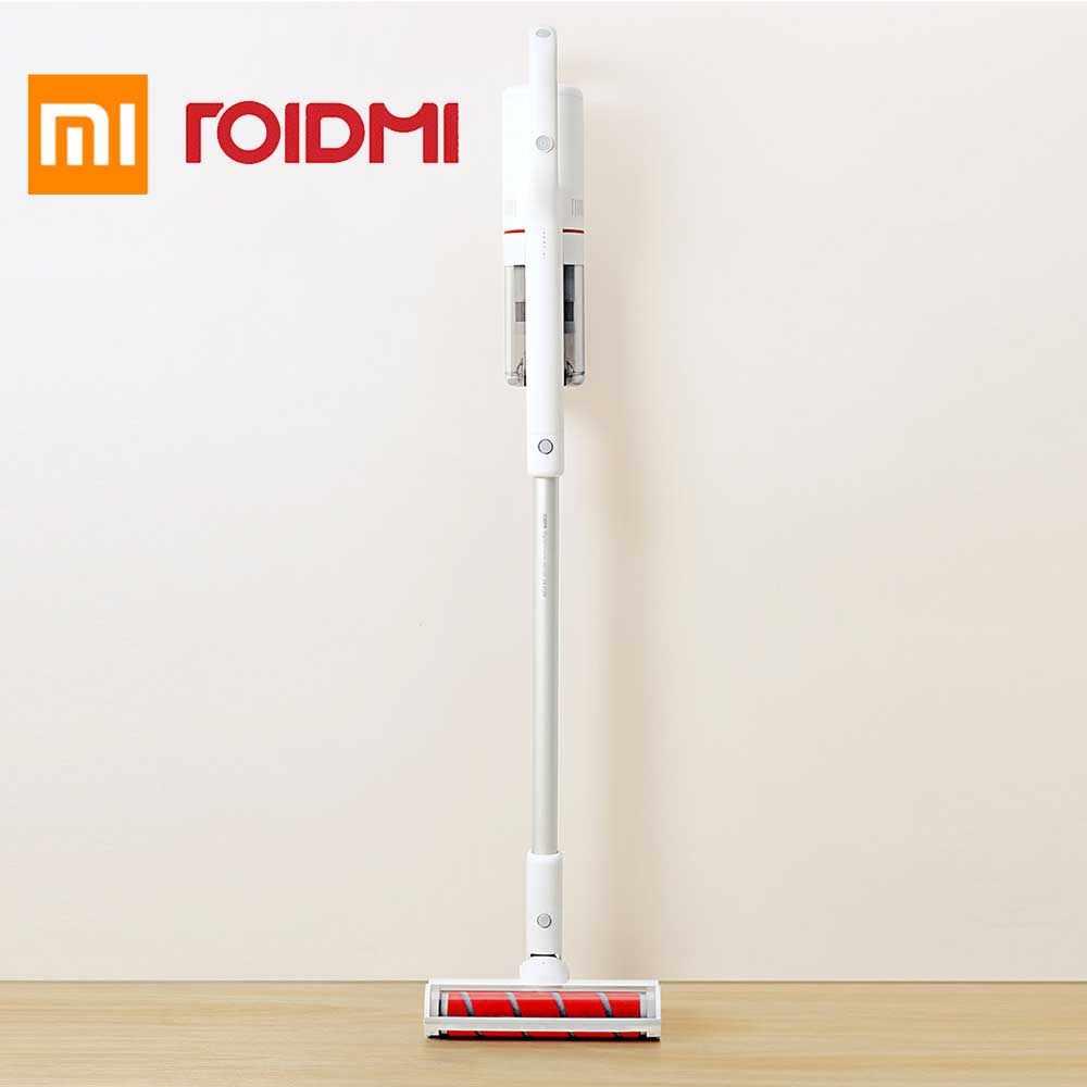 Xiaomi ROIDMI беспроводной портативный мощный Вакуумный Пылесос приложение интеллектуальное подключение пылесос с светодиодный датчиком света
