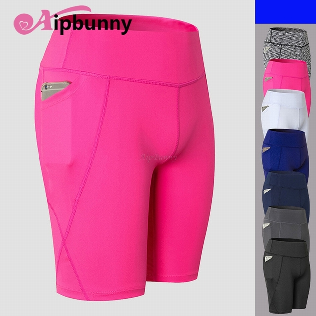 Workout Yoga shorts Sports 2019 dry Fit Exercise Bodybuilding Short Gym Sweatpants Tight Fitness Running for Men
