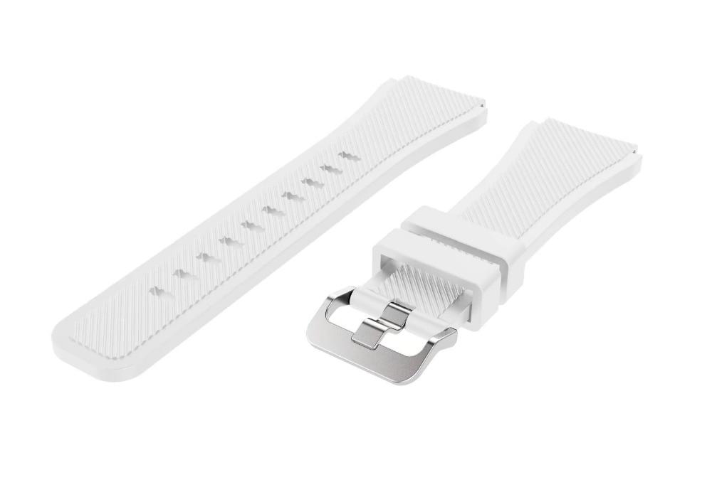 Correa de reloj de pulsera de silicona deportiva para Samsung Gear S3 - Accesorios para relojes - foto 2