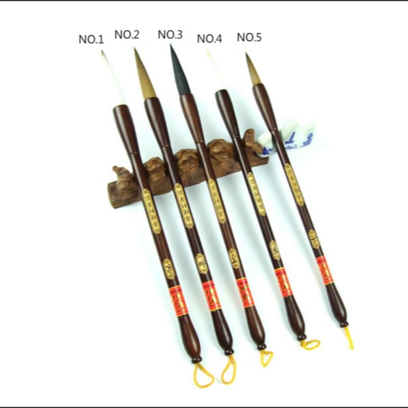 Authentische Huzhou kalligraphie pinsel set für woolen und wiesel haar Schreiben pinsel-in Malpinsel aus Büro- und Schulmaterial bei  Gruppe 2