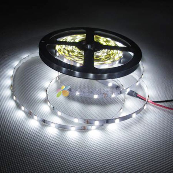 5 м Высокое качество 2835 SMD 300 60leds/м холодный белый Светодиодные ленты света не Водонепроницаемый