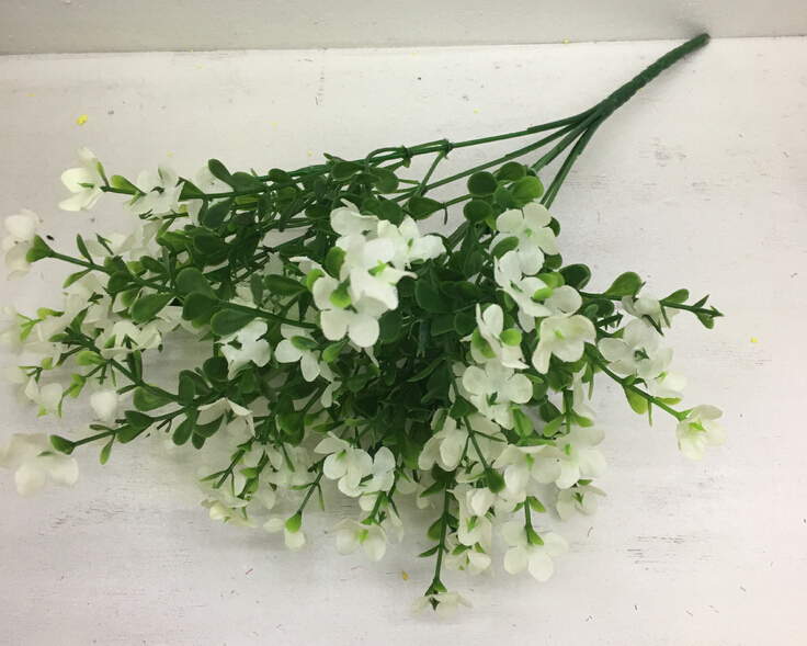 Wedding Decoration Artificial Flowers Forget Me Not Silk Flowers For
