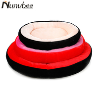 Nunubee Warm Soft Cotton Dog Pet Bed Puppy Dogs Kennel Dog House Pet Sleeping Bag Cat Bed Cat House S M L