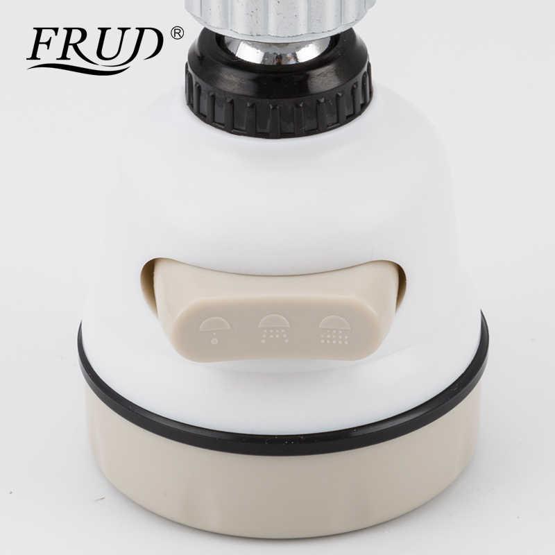 Frud Bergerak Dapur Keran Kepala 360 Derajat Rotatable Keran Dapur Aerator Hemat Air Sprayer Ringan Rumah Filter Nozzle