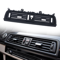 MAHAQI Front Center Air Outlet Vent Dash Panel Grille Cover for BMW 5 Series F10 F18 523 525 535 Interior Mouldings Panel Grille