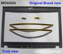 Nova LCD Original Frente Shell Moldura Capa para ThinkPad X220 X230 w/LED Indicador de Luz Da Câmera Parafuso da Placa de Cobre 04W2186 04Y1854