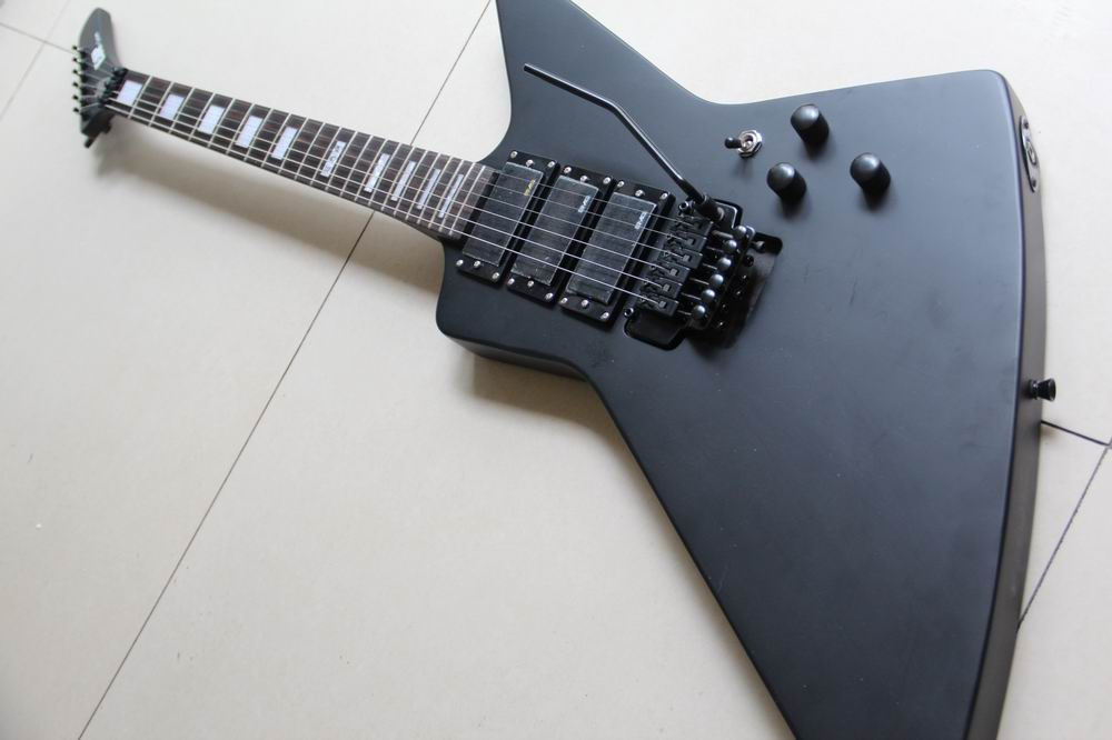 New Arrival E SP X-III Explorer Model electric guitar 3 pickups  in matte black 130128 гель д душа le petit marseillais альпийский мед 250мл