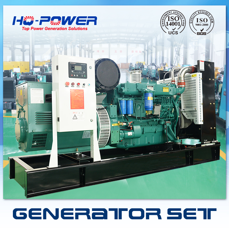 1500rpm or 1800rpm 200kw 250kva water cooled 3 phase generator for sale