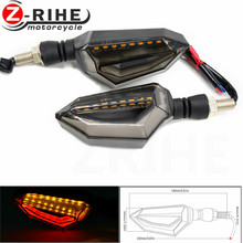 for honda ktm Motorcycle modified Turn signals waterproof turn lights LED direction lamp decorative Signal lights Daytime lamp 2 pcs motorcycle modified turn signals waterproof turn lights led direction lamp decorative signal lights daytime lamp free ship