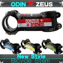 Odinzeus Alloy+3K carbon Mountain/Road bike Stem 6/17 Degree stem Fork Clamp Diameter 28.6mm handlebar diameter 31.8mm*60-120mm