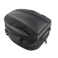 Motorcycle riding tail bag back seat portable shoulder bag motor backpack motorcycle tank magnetic saddlebag for motorcycles