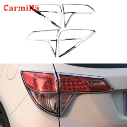 ABS Chrome Car Rear Lights Cover Fit For Honda Vezel HR-V HRV HR V 2014 2015 2016 2017 2018 2019 Back Light Trim Sticker