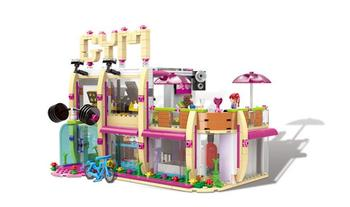 XINGBAO 12002 City Girl Series New The Gym Club Set Building Blocks Bricks Toys Model For Children As New Year Gifts