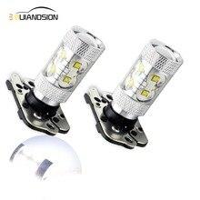 2x Error Free CAN-bus 50W PH16W LED Bulbs For 2011-2013 LCI BMW E92 328i 335i M3 & 2010-up Audi A7 S7 RS7 Backup Reverse Lights цены