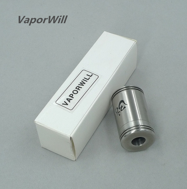 Turbo RDA Rebuildable Dripper Dripping Atomizer 510 thread 22mm Mech Tank for Mechanical Box Mod battery Vaporizer ecigs Pen Electronic Cigarette Atomizers