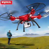 SYMA Professional UAV X8HG X8HW X8HC 2 4G 4CH RC Helicopter Drones 1080P 8MP HD Camera