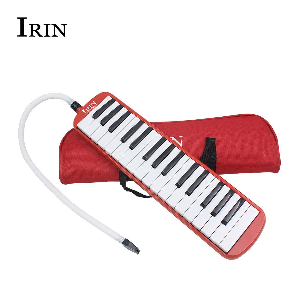 New Brand Portable <font><b>32</b></font> <font><b>Key</b></font> <font><b>Melodica</b></font> Professional Musical Instruments 2 Colors Student Class Harmonica With Bag Easy To Play image
