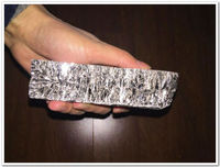 High Quality Bismuth Ingot 1000g Metal Ingot High Purity 99 99 Free Fast Shipping By DHL