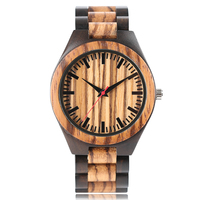Fold Clasp Men Women Casual Full Wooden New Arrival Simple Nature Wood Sport Cool Modern Wrist Watch Gift Creative Bamboo