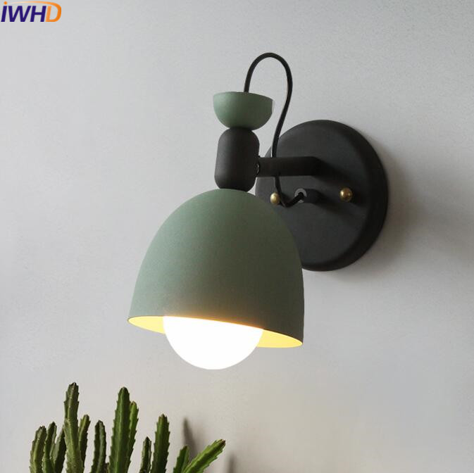 IWHD Modern Wall Lamp LED Creative Iron Wall Lights For Home Lighting Fixtures Creative Bedroom Living Room Sconce Arandela modern lamp trophy wall lamp wall lamp bed lighting bedside wall lamp
