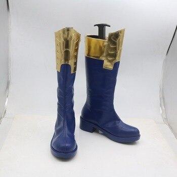 Cosplaydiy BOKU no Hero Akademia Cosplay zapatos de mi héroe Academia Todoroki Shoto botas zapatos para adultos L320