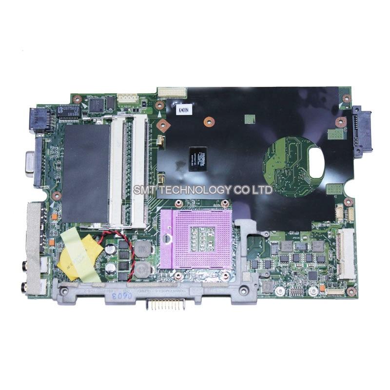 K40IN laptop motherboard for asus REV 2.2 100% Original mainboard tested good Warranty 45days