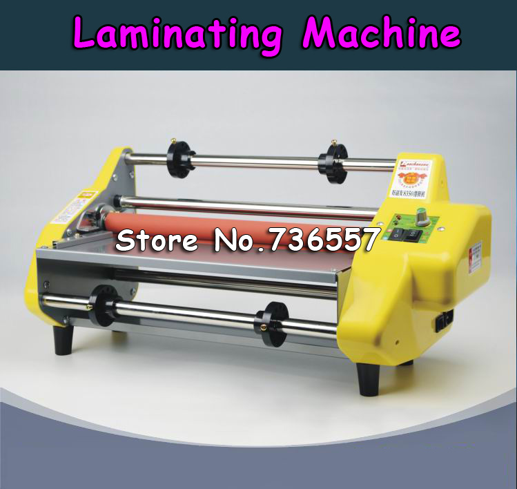 1PC New 8350 13 Laminator 220v Four Rollers Hot Roll Laminating Machine Fast Shipping free ship сумка river island river island ri004bwxpb31