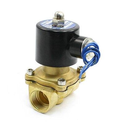 19mm 2 Way 2 Position Water Gas Electric Solenoid Valve DC12V 2W-20 1 2 solenoid valve water brass 2 way valve oil gas valves dc12v dc24v ac110v or ac220v