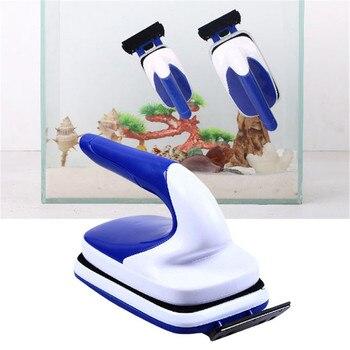 Аквариумная практичная плавающая Магнитная Щетка для аквариума, стеклянный скребок для водорослей для аквариума, инструмент для очистки окна, щетка для очистки магнитов