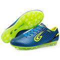 ZHENZU Soccer Football Shoes Cleats Boots chuteira futebol Training Teenagers Kids AG chaussure foot botas de futbol
