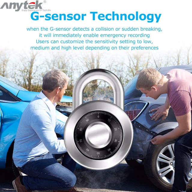 Anytek X28 Mini Car DVR DVRs Camera Full HD 720P Auto Digital Video Recorder Camcorder ADAS G-sensor 150 Degree Dash Cam