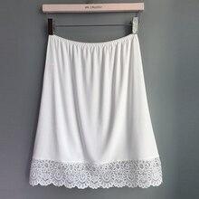 Женская Нижняя юбка, Однотонная юбка, Модальные Юбки, сексуальные женские юбки, повседневное нижнее белье