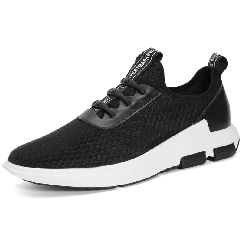 2017 Mens Walking Shoes Breathable Light Weight Outdoor Sports Shoes Non-slip Travel Shoes For Men Black Free Shipping LY661