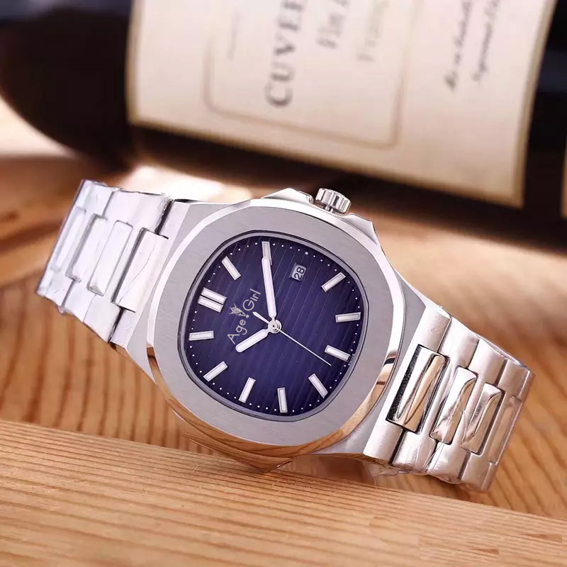Luxury Brand New Automatic Mechanical Men Watch Rose Gold Sapphire Steel Transparent Glass Back Casual Black Blue AAA+ QualityLuxury Brand New Automatic Mechanical Men Watch Rose Gold Sapphire Steel Transparent Glass Back Casual Black Blue AAA+ Quality