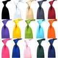 Moda dos homens de Cetim Cor Sólida 8 CM Ampla Tie Casual Gravata Formal Do Casamento BWTYY0032