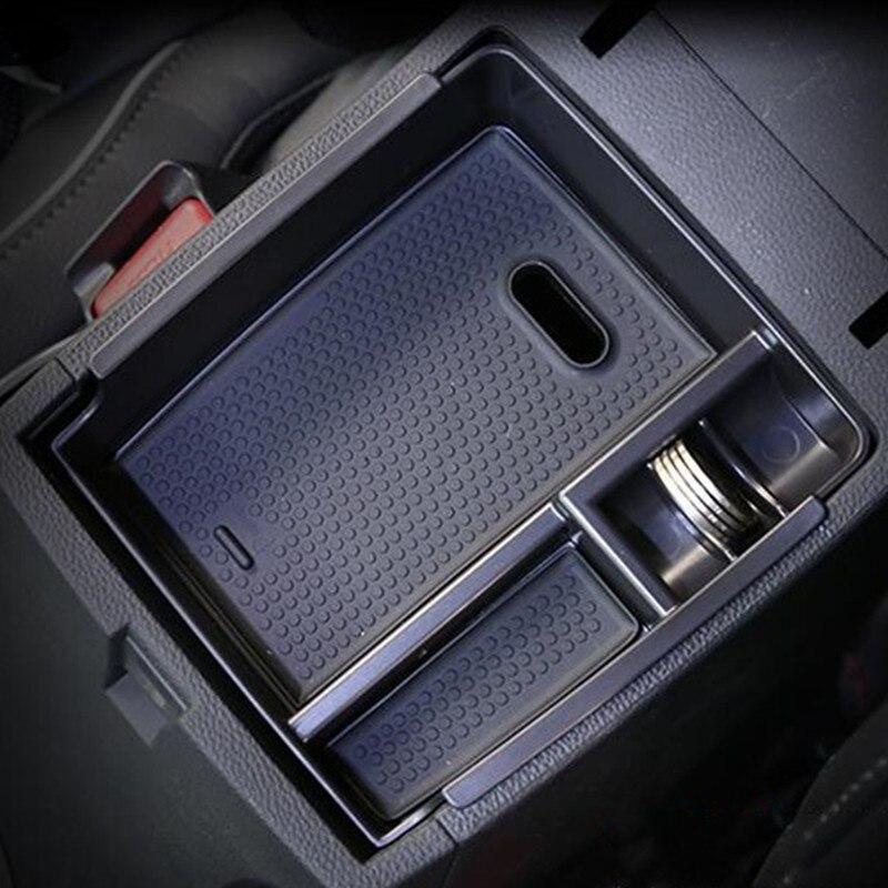 Otomatik iç kalıp trim, araba kol dayama saklama kutusu hyundai ix25 creta 2014-2018 2019, araba aksesuarları