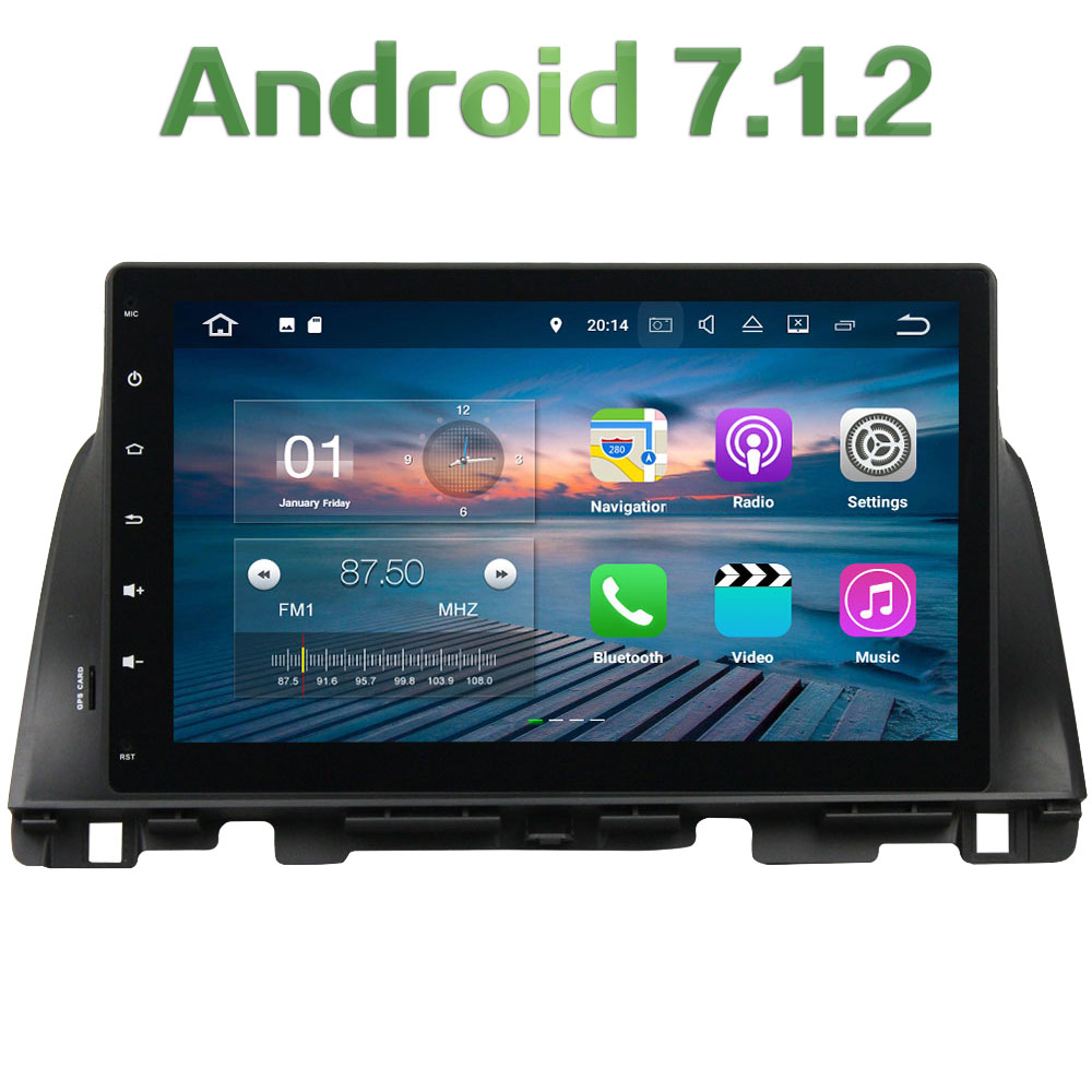 1024 600 10 1 Android 7 1 2 Quad core 1 din 2GB RAM 16GB ROM