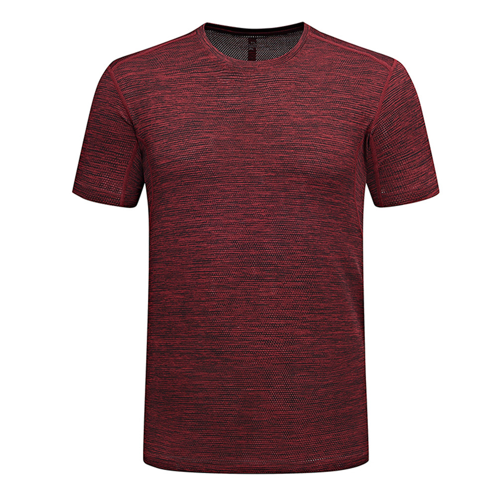 Мужская футболка WWKK для походов на природе, летняя футболка для фитнеса, пешего туризма, альпинизма, быстросохнущие дышащие спортивные футб...