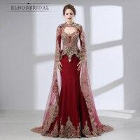 Бордовый Русалка Мать невесты платья для женщин 2019 Арабский Вечерние платья Vestido De Madrinha De Casamento свадебное платье для гостей