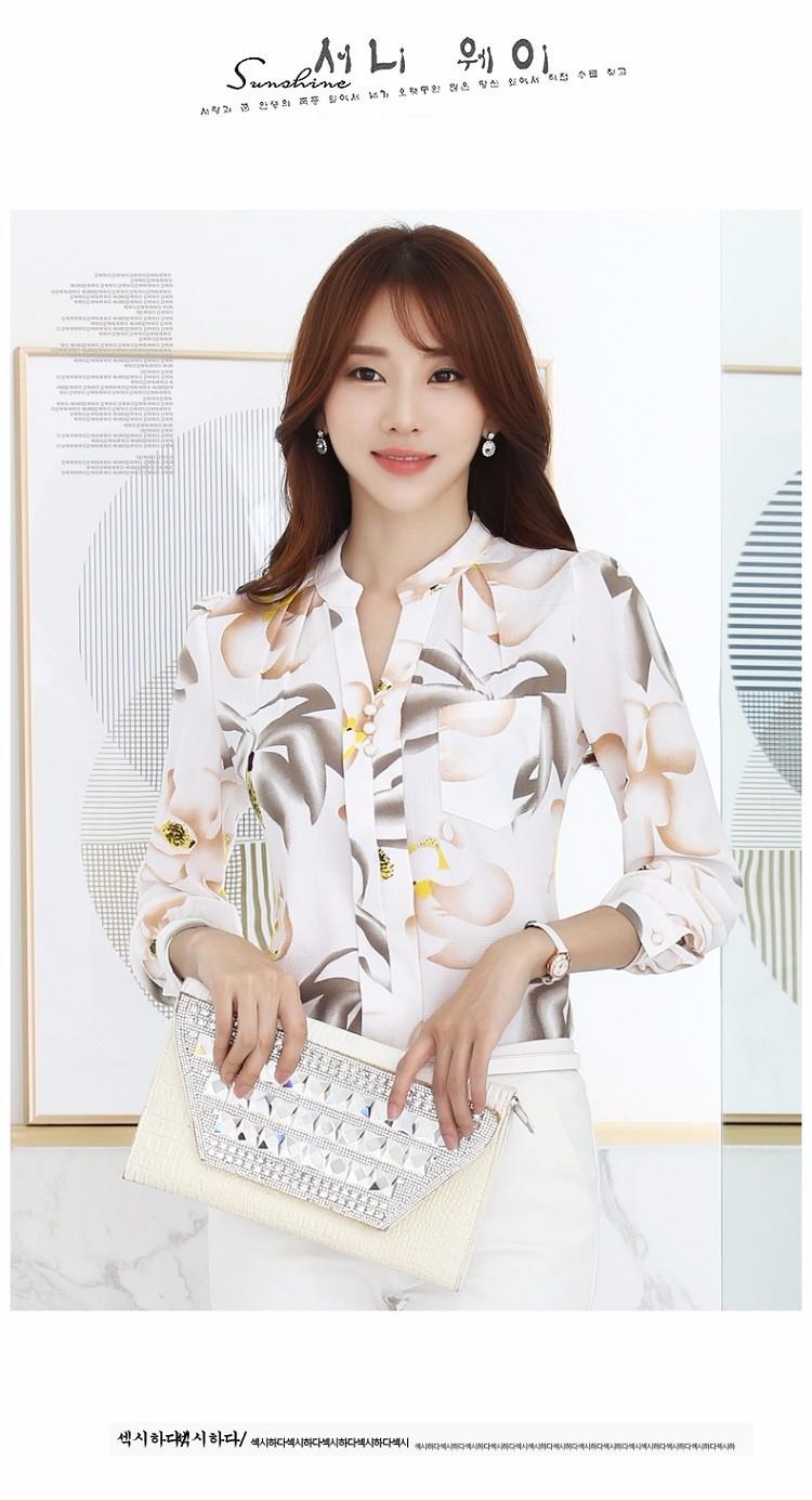 HTB1h B2NVXXXXXtXpXXq6xXFXXXv - Autumn Fashion Blouse Office Work Wear shirts Women Tops