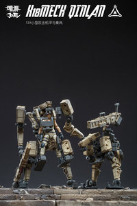 Image 1 - JOYTOY 1/25 action figure soldiers QINLAN and robot MECH gift present Free shipping