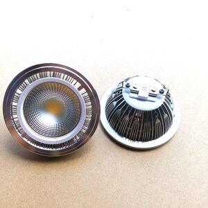 Image 5 - Kısılabilir 15w COB LED G53 AR111 lamba AC85V 265V GU10 AR111 spot sıcak beyaz soğuk beyaz Ücretsiz Kargo