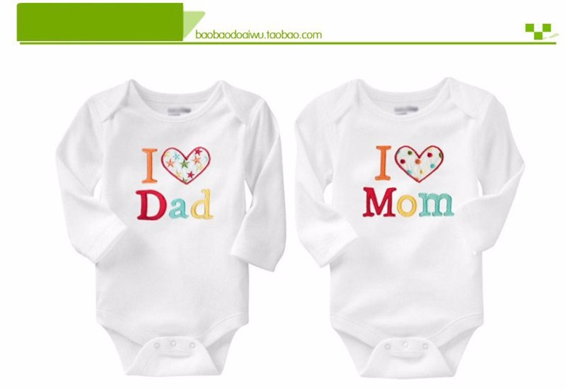 Letter Baby Bodysuits Active Cotton Newborn Clothes 2 Styles Boys Girls Bodysuit O Neck Triangle Climbing Coverall Baby Clothing (6)