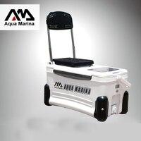 inflatable boat sup board fishing board fish box temperature control fishing cooler kayak icebox storage ice fresh A05013