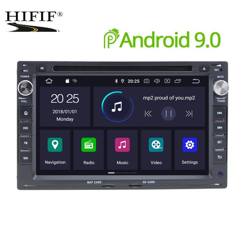 DSP IPS 4G Android 9.0 voiture GPS pour VW PASSAT B5 B4 JETTA BORA GOLF 4sharan POLO MK5 MK4 MK3 T5 TRANSPORTER pour Peugeot 307 dvd