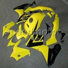 7gifts + Tanque cobrir 02-07 amarelo para Honda 2002 2003 2004 2005 2006 2007 CBR125R carenagem ABS da motocicleta CBR 125 02-07