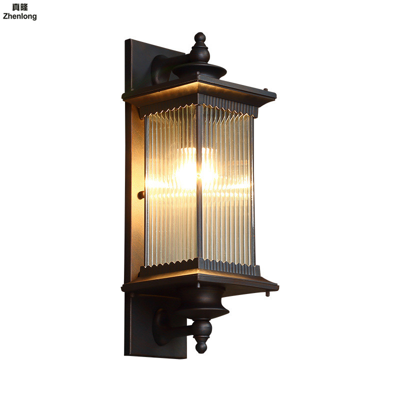 Outdoor Wall Light Waterproof Exterior Wall Main Entrance ...